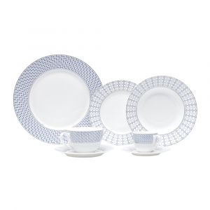 AP JANTAR 42PC PORCELANA NEW BONE CHINA AVEIRO WOLFF ROJEMAC 1