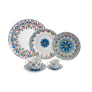 AP JANTAR 42PC PORCELANA SUPER WHITE MARRAKESH WOLFF ROJEMAC 1