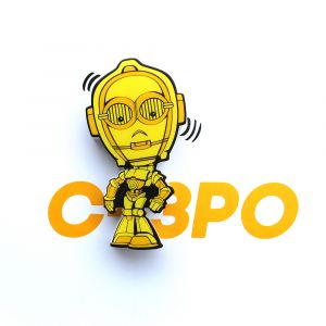 Mini Luminária 3D Light FX Star Wars C-3PO 1