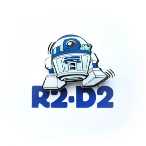 Mini Luminária 3D Light FX Star Wars R2-D2 1