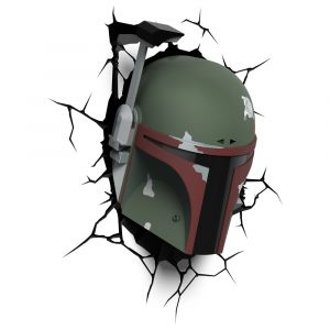 Luminária 3D Light FX Star Wars BOBA FETT 1