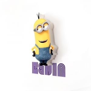 Mini Luminária 3D Light FX Minions Kevin 1