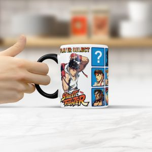 Caneca STREET FIGHTER Player Select - Beek 1