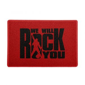 Capacho 60x40cm We will Rock You 1